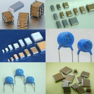Ceramic disc capacitors