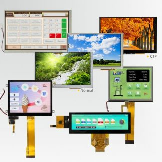 Displays met touchscreens